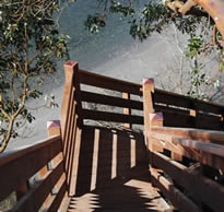 Brockman Builders, Incorporated, Specializes In The Design And Construction  Of Stairs To The Beach To Provide Shoreline Access For Waterfront Property  ...